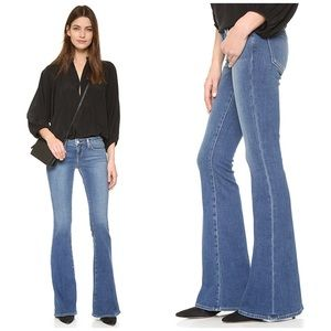 L'AGENCE Elysee Low Rise Flare Jeans Medium NWT 28
